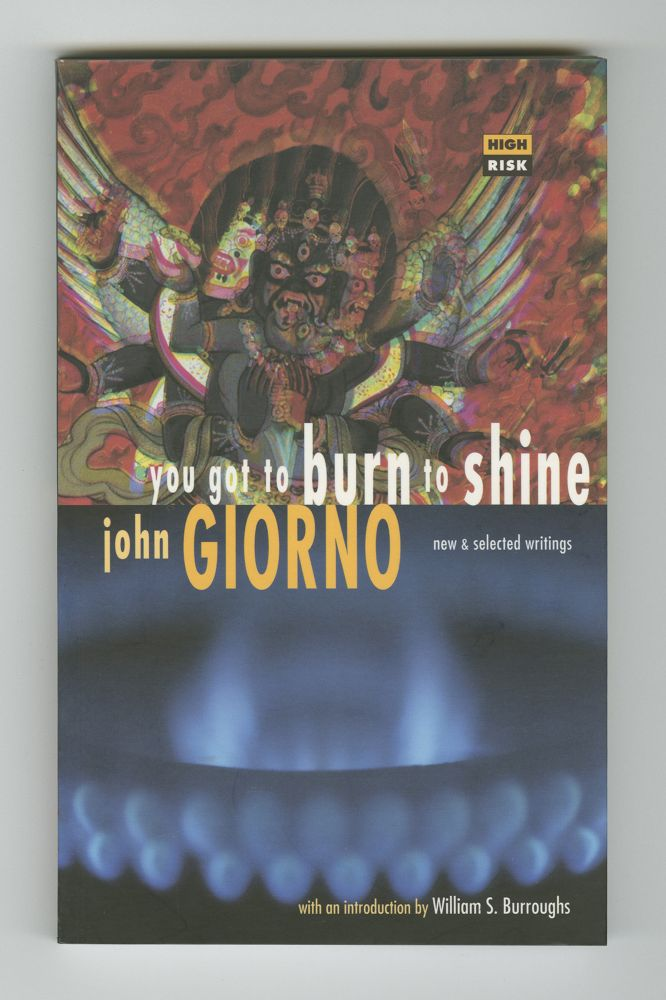 You Got To Burn To Shine, 1994 (1) –Front cover