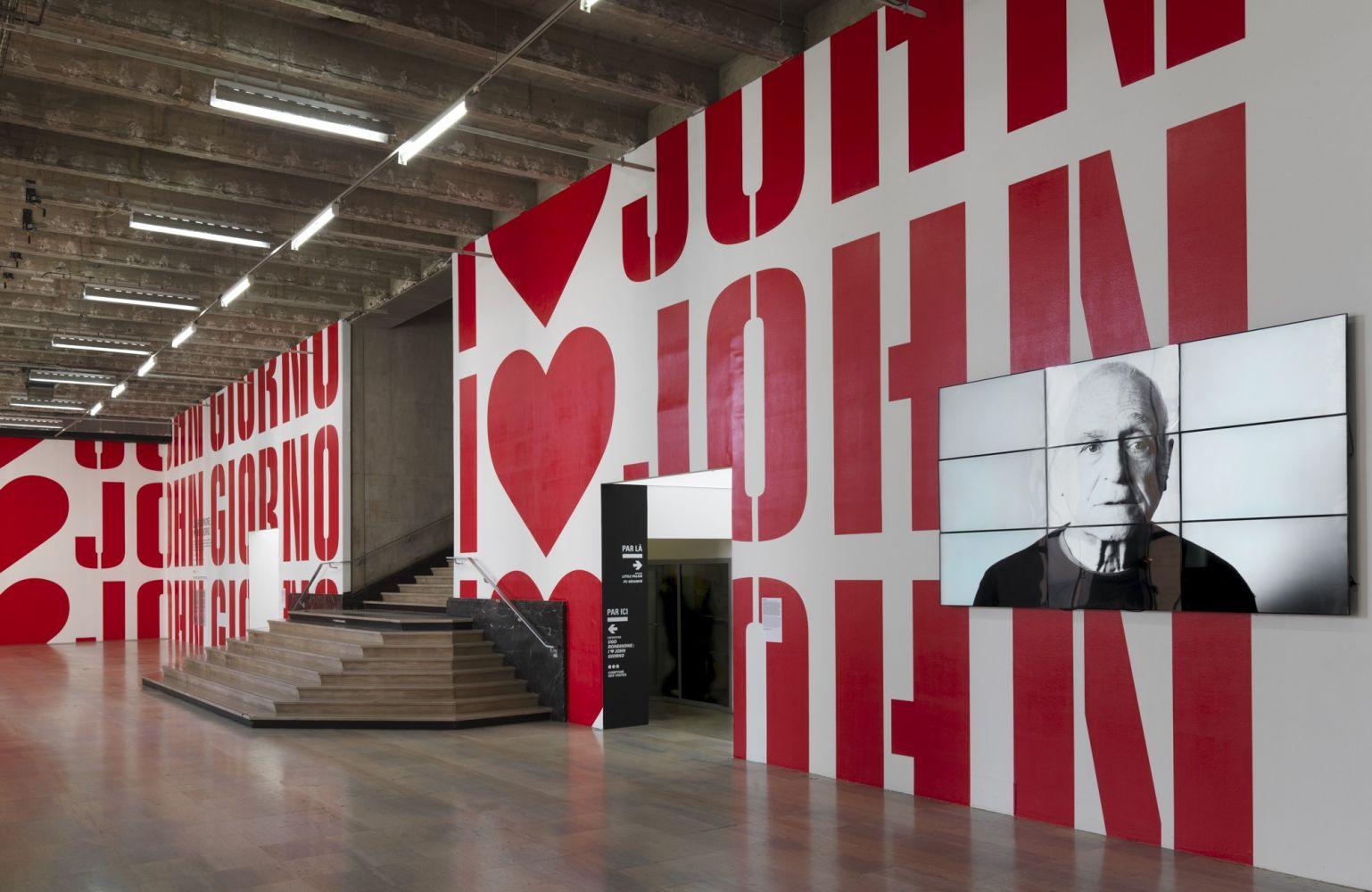 Scott King for I ♥ John Giorno