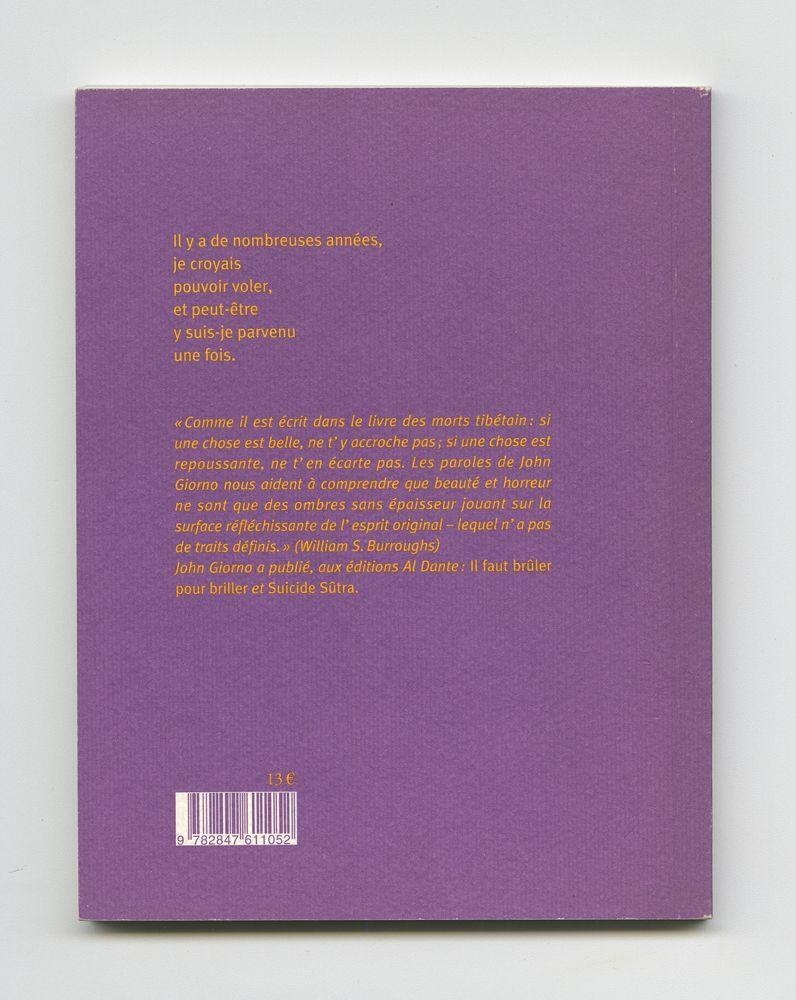La sagesse des sorcières, 2004 (8) – Back cover