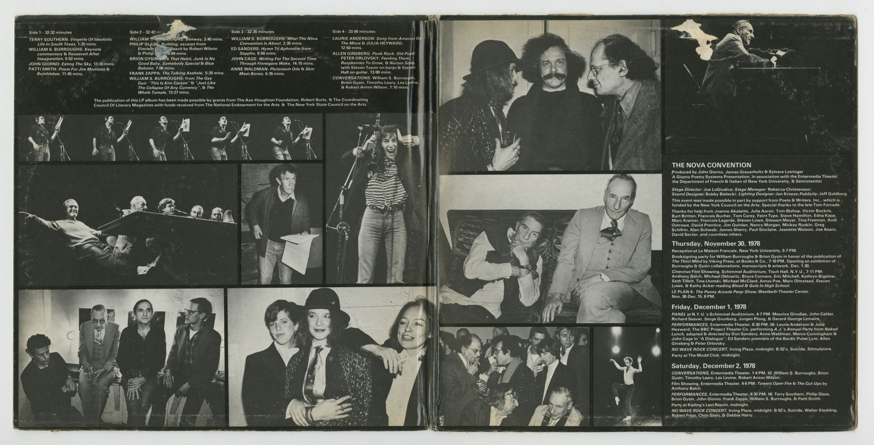 The Nova Convention (1979), inside spread