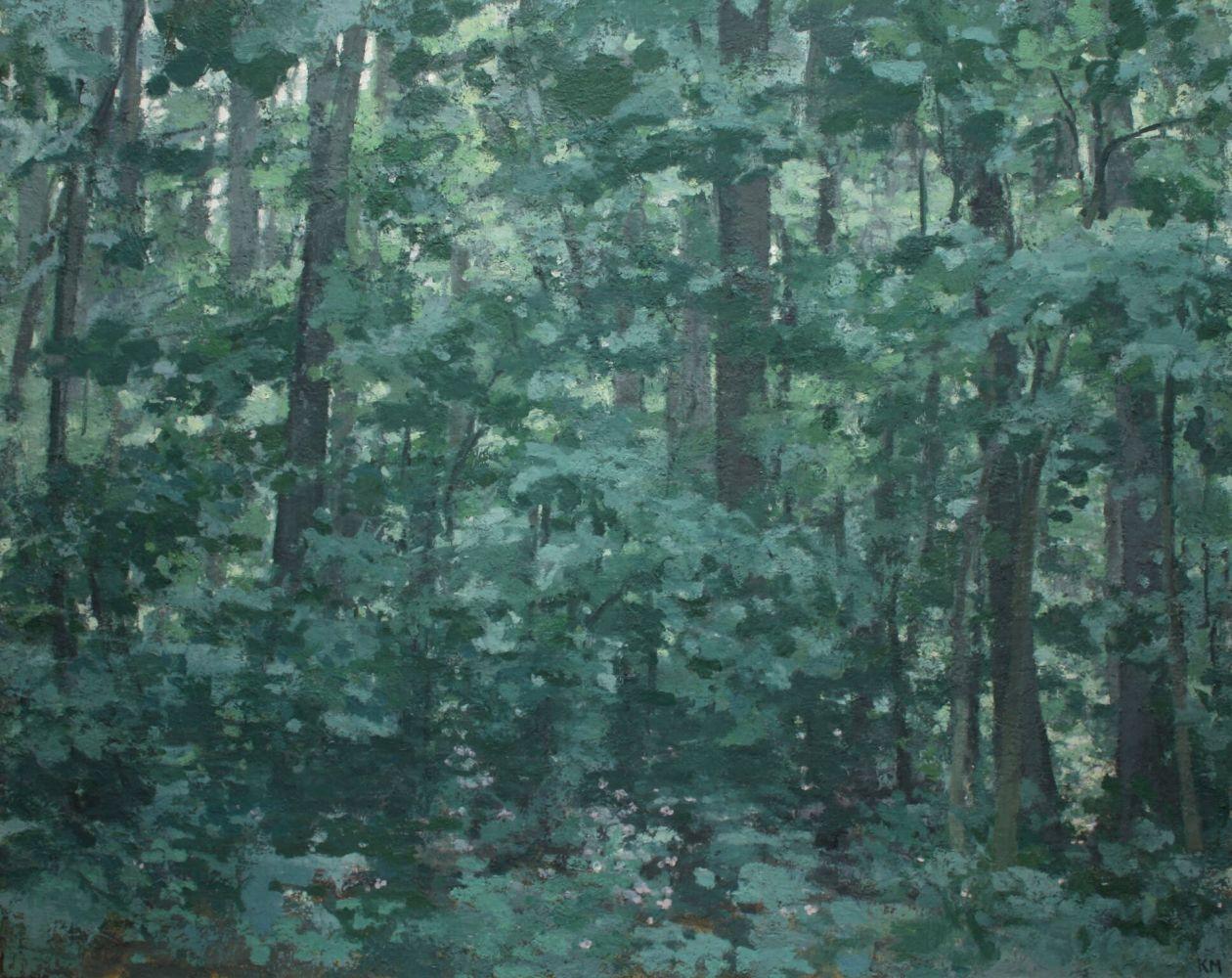 """Kurt Moyer, The Forest 64"""" x 80""""  Oil On Linen"""