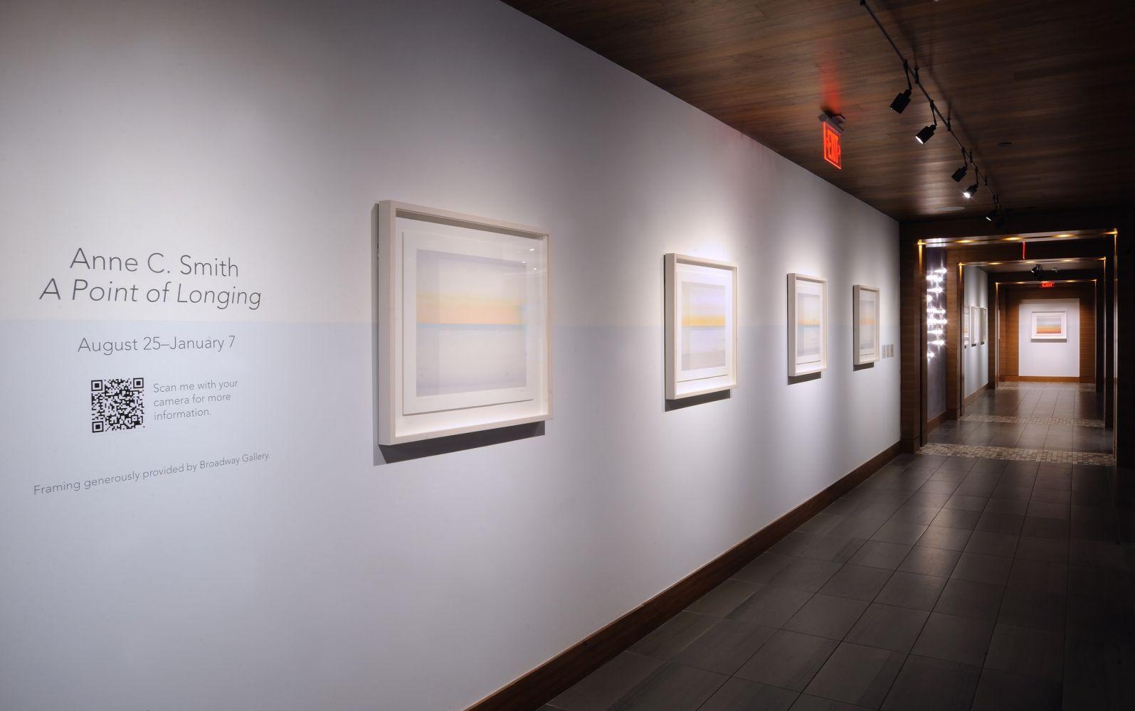 Installation view of Anne C. Smith exhibition