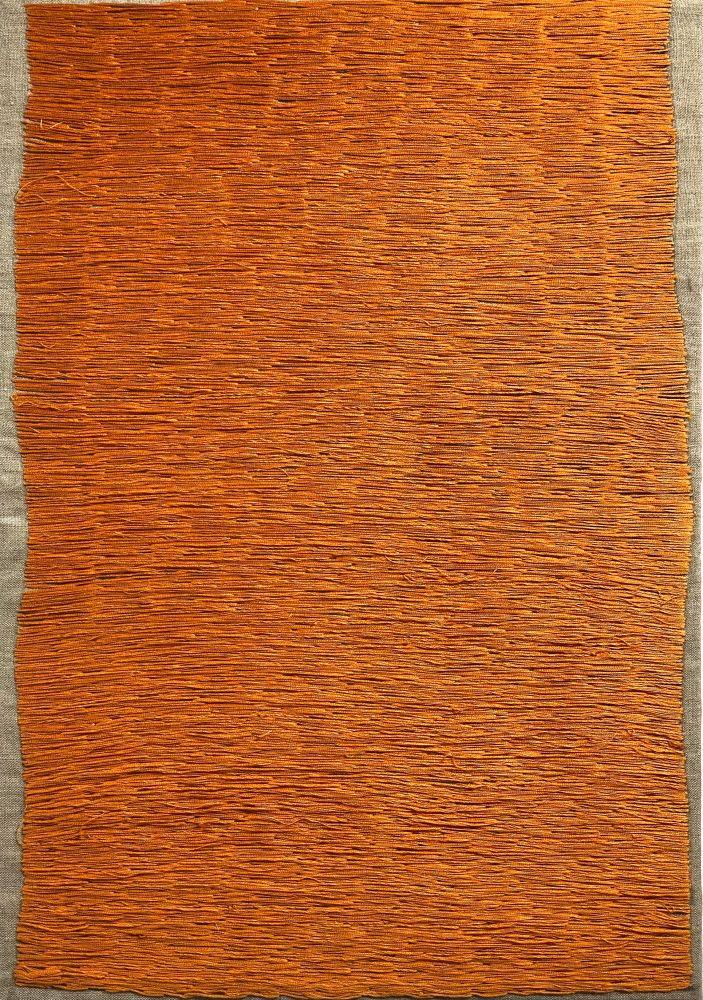 "Natasha Das, Untitled Color Composition II  14"" x 20""  Thread On Canvas"