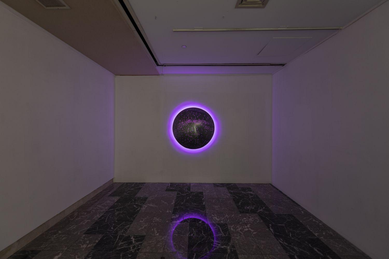 "Ursa Major  48"" Diameter  Installation View (courtesy Esther Klein Gallery)"