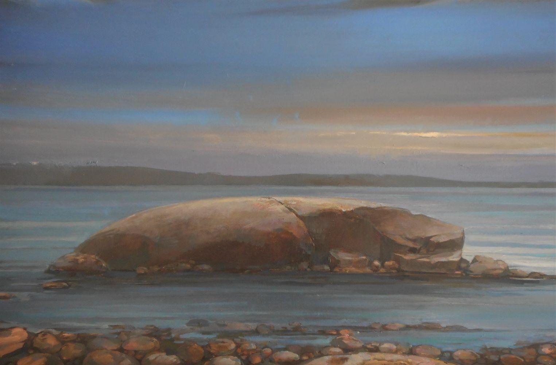 "Rock Morning II  16"" x 24""  Oil On Canvas"