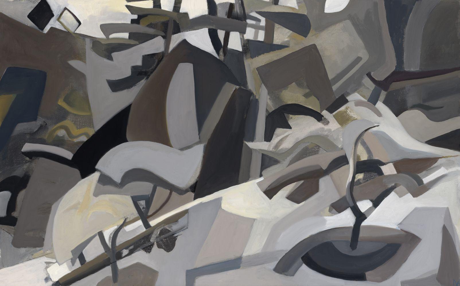 "Apple Tree Jazz  30"" x 48""  Oil On Canvas"