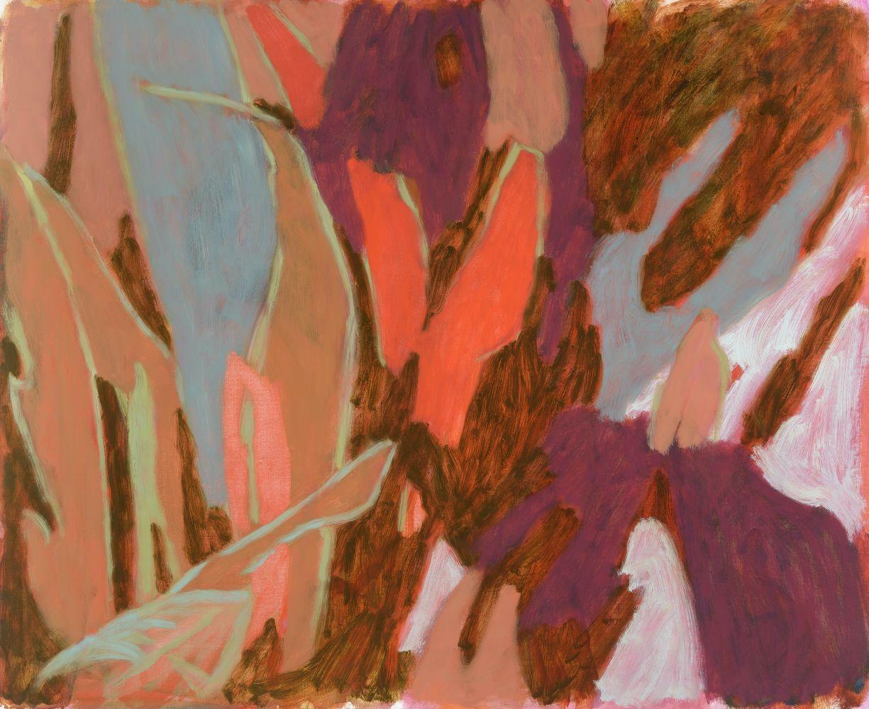 "Moon, moon  27"" x 33""  Oil On Canvas"