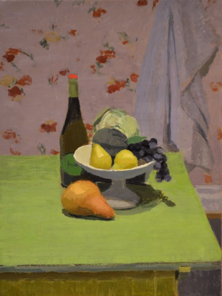 """Prosecco With Fruit  20"""" x 15""""  Oil On Linen"""