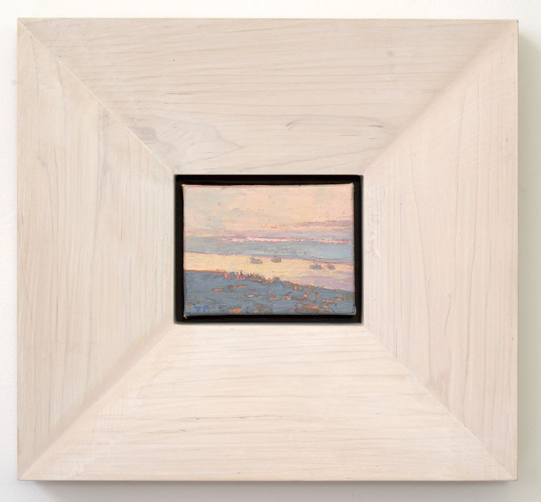 "Shipping Lanes, New Orleans (framed)  3.38"" x 4.5"""