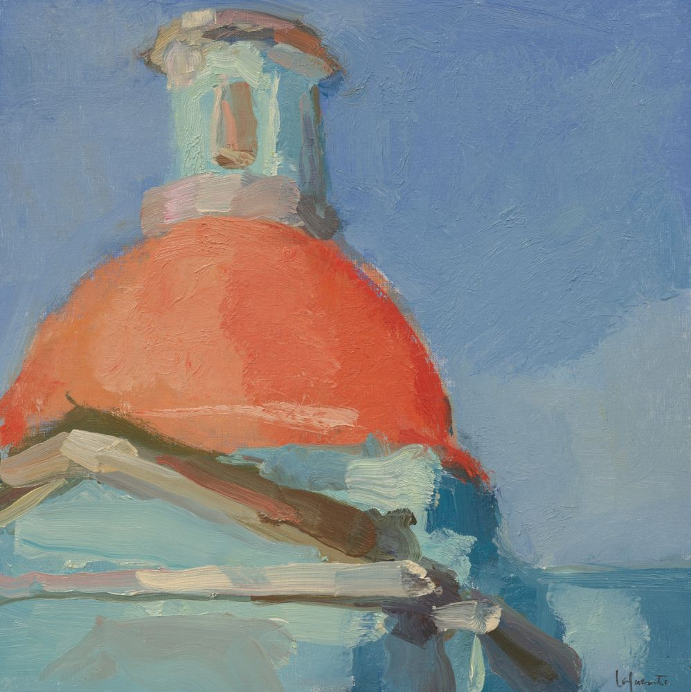 "Capilla Dome  12"" x 12""  Oil On Mounted Linen"