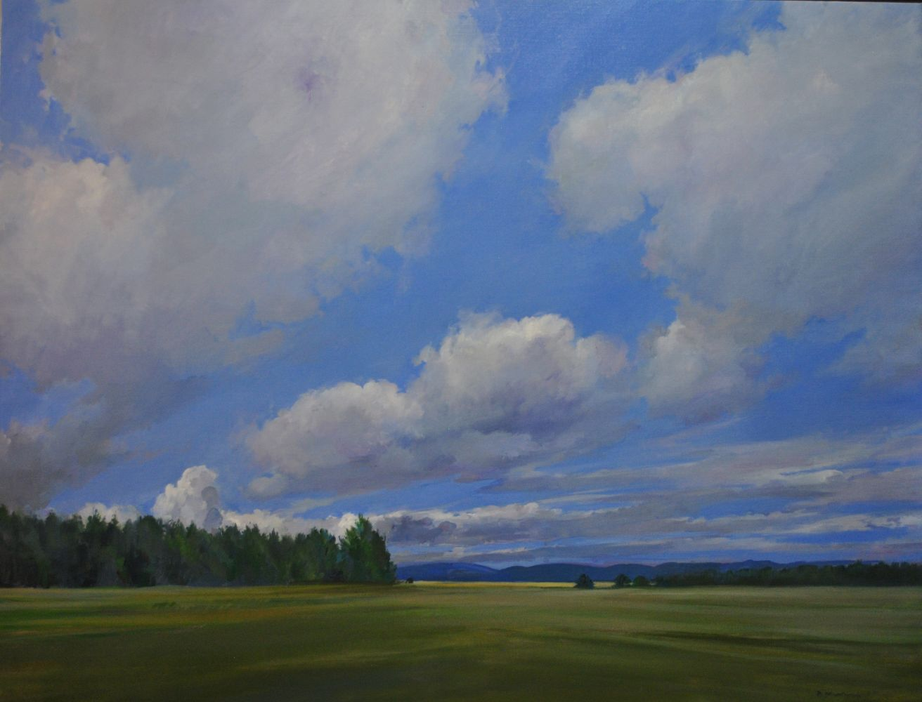 """Clear Day  40"""" x 52""""  Oil On Canvas"""