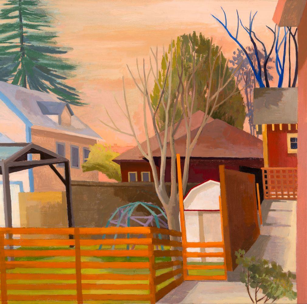 "Borders  28"" x 28""  Oil On Canvas"