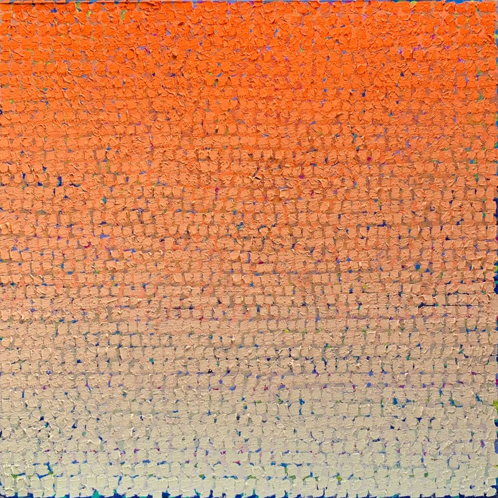 "2019 Q  30"" x 30""  Oil On Canvas"