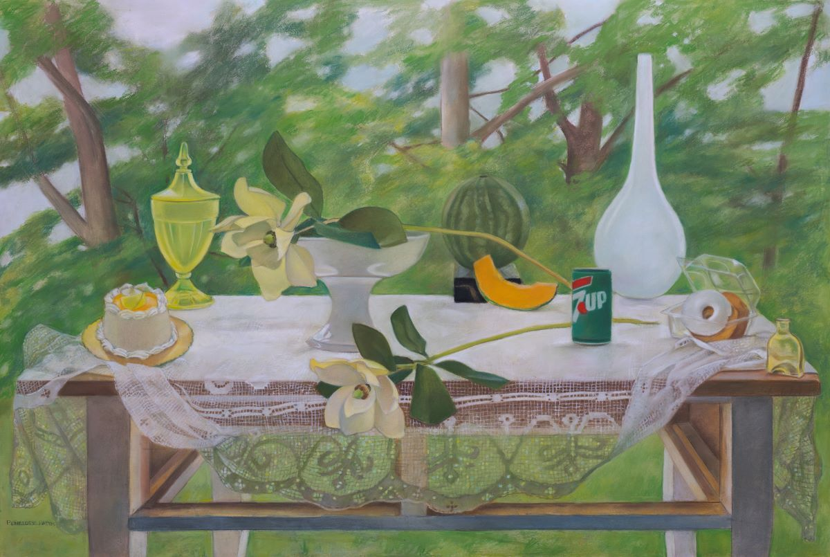 "I Lost My Drawers  40"" x 60""  Pastel On Paper"