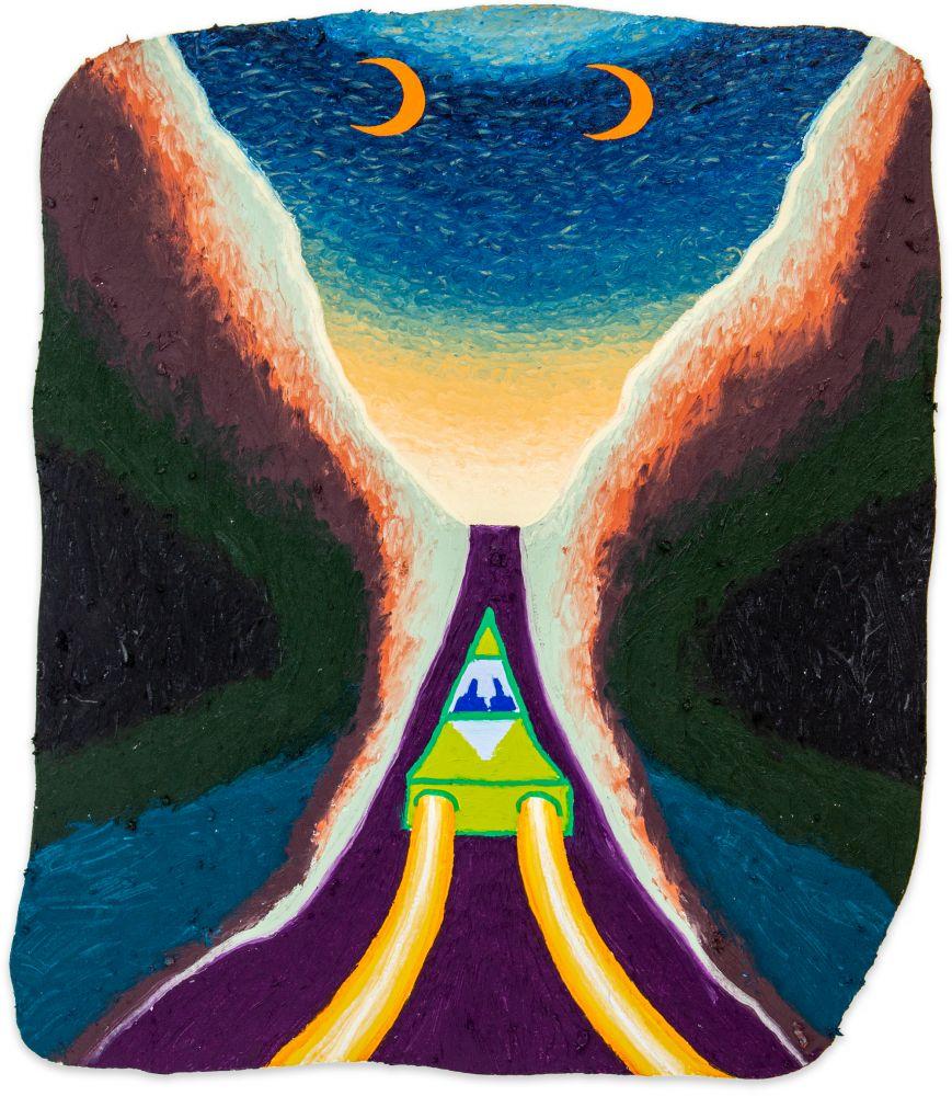 Eliot Greenwald, Night Car (wave)