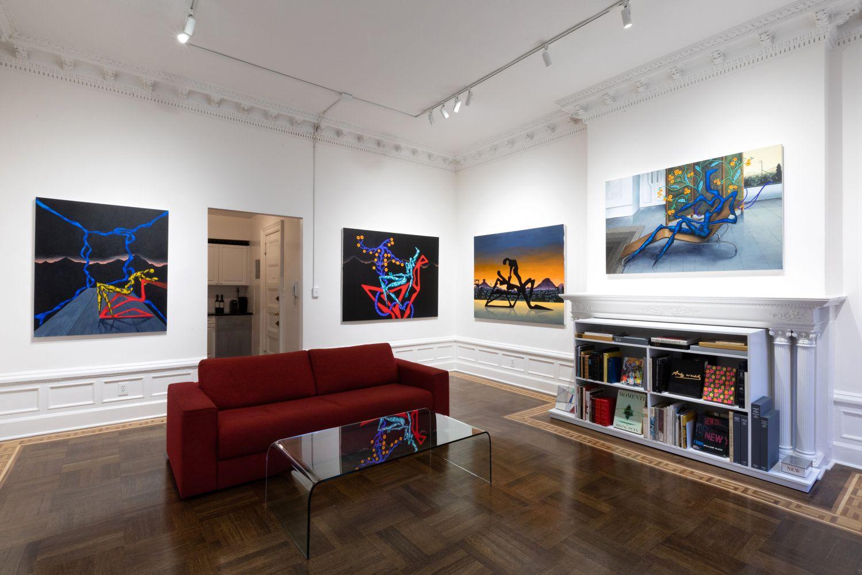 Alejandro Cardenas: ANTARCTICA - installation view