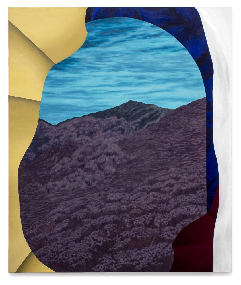 Joani Tremblay, Paper folds around your view, 2021
