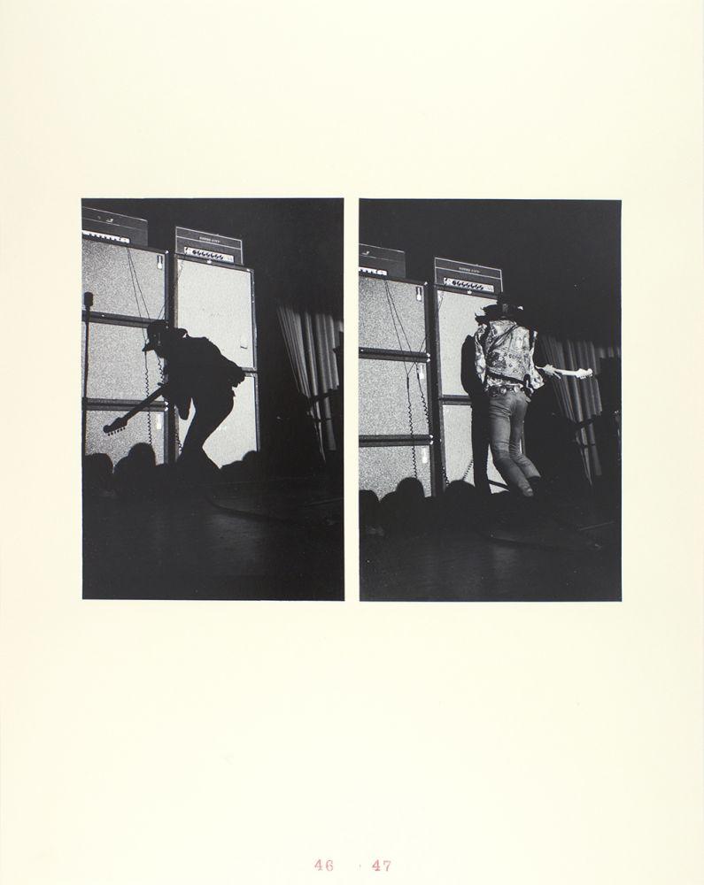 John Gossage, Jimi Hendrix, Washington Hilton First Show, 1968, 1968/2009