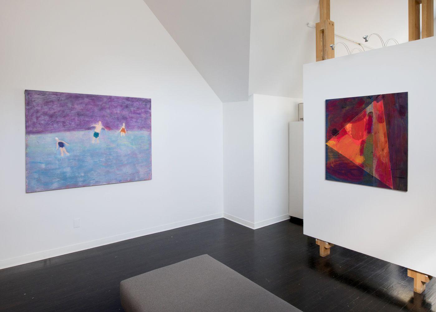August - installation view