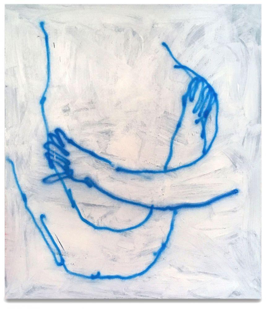 Dan Flanagan, Untitled (Arms Pushing/Hugging), 2019
