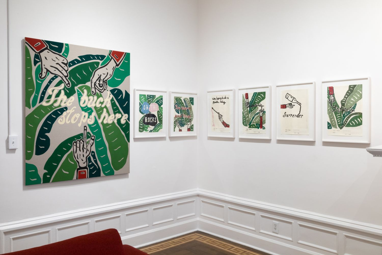 Joel Mesler: Show Schmo - installation view