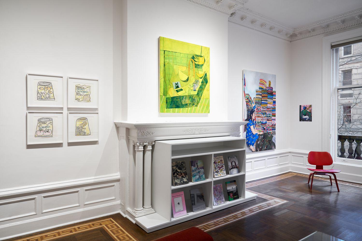 12 Artists installation view