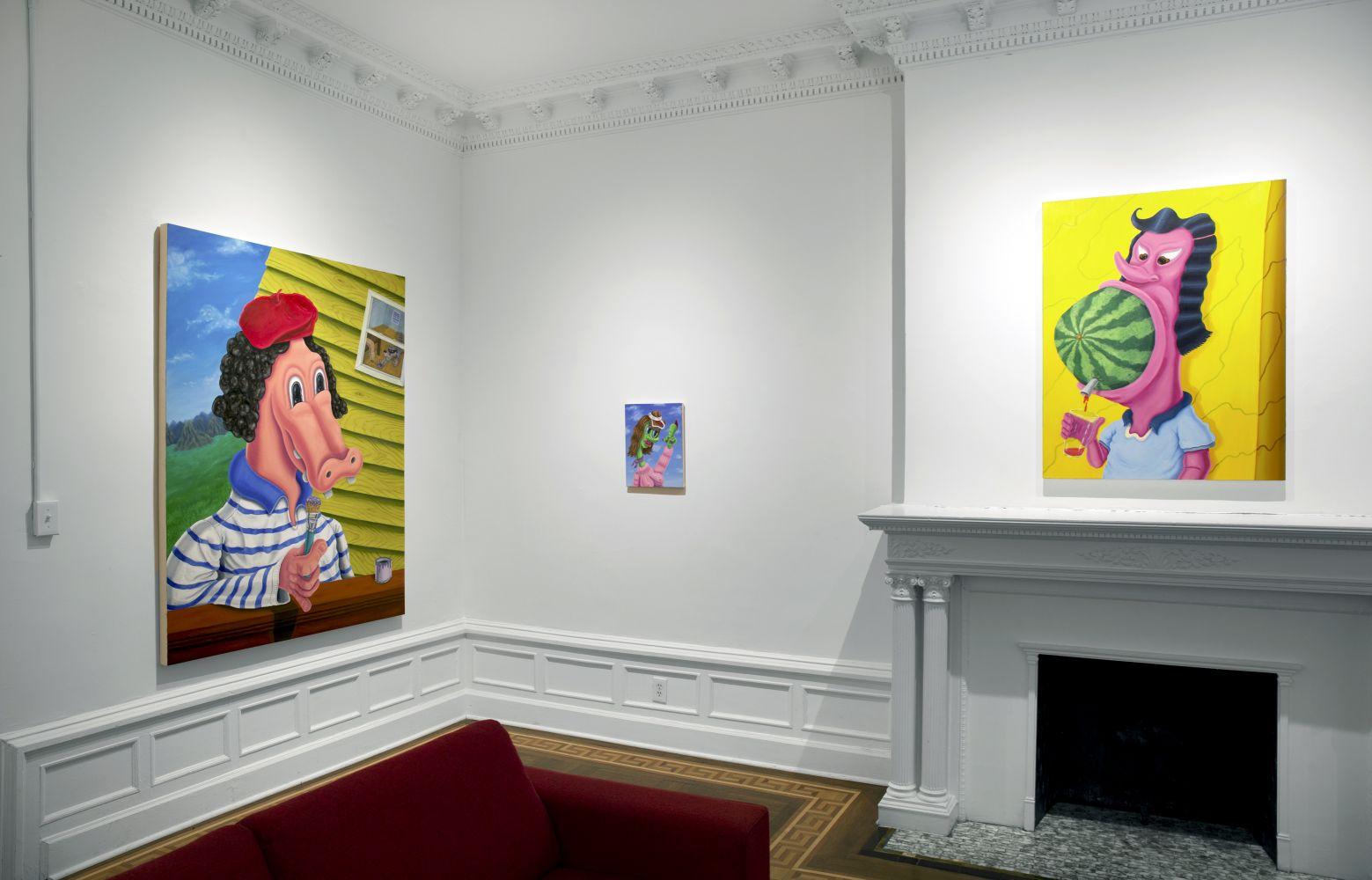 Nicasio Fernandez: Working Through It - installation view