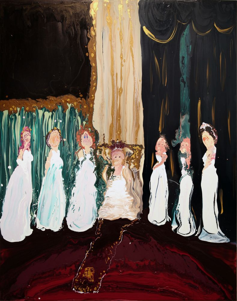Genieve Figgis, The Queen and Her Ladies, 2016