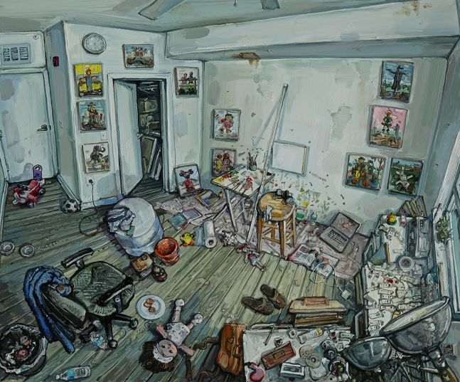 Amer Kobaslija, 'Studio with Air Filter,' 2020
