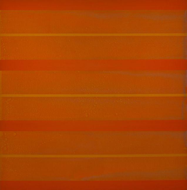 "ORANGE, 2009 Acrylic on canvas, 54 x 54"""