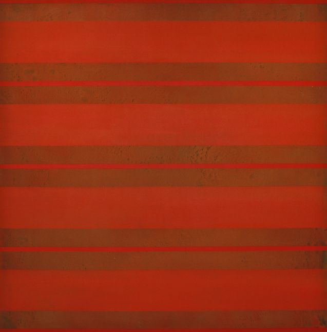 """RED, 2009 Acrylic on canvas, 54 x 54"""""""