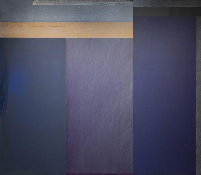 "13-I-20, 2020 Acrylic on canvas, 70 x 80"""
