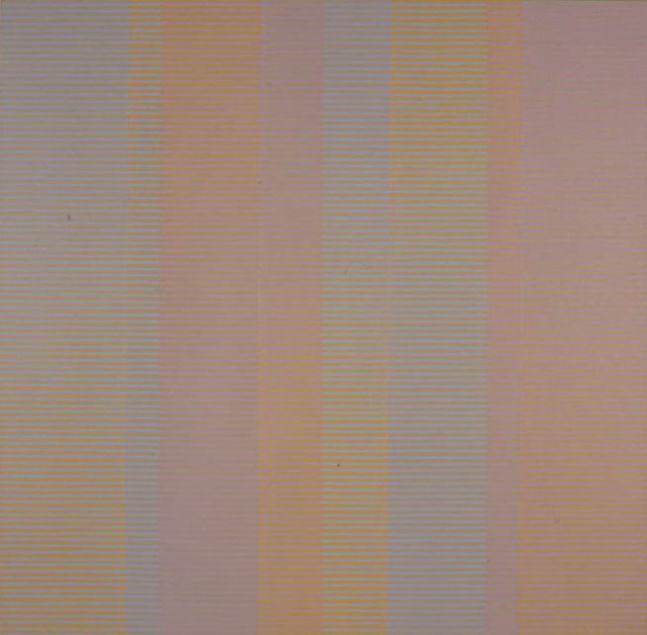 """COLOURED GREYS, 1997 Acrylic on canvas, 36 x 36"""""""