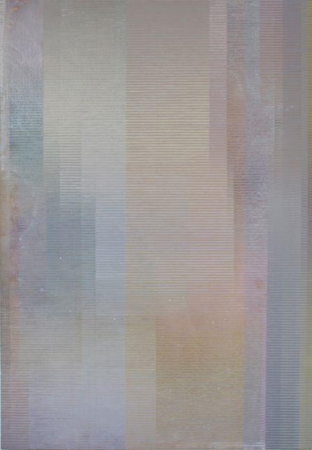 "SFUMATO, 2000 Acrylic on canvas, 68 x 45"" Private Collection"