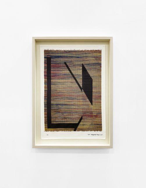 Framed View - Suki Seokyeong Kang, Untitled (Based on Mat Black Mat 122 x 163 #19-02, 2019), 2020
