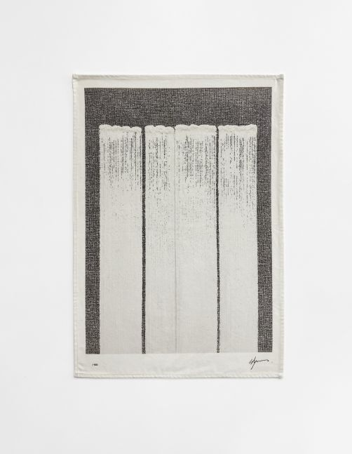 Ha Chong-Hyun (b. 1935) Untitled (based on Conjunction 19-03, 2019), 2020 Digital print on tea towel, 100% cotton 27.56 x 19.69 inches 70 x 50 cm Edition of 100