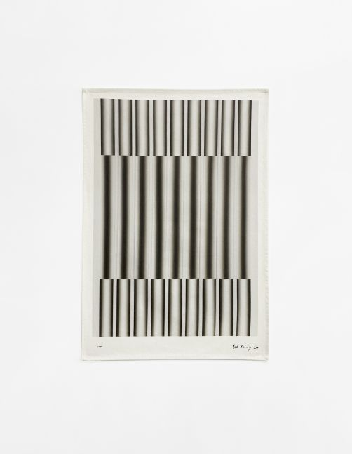 Lee Seung Jio (1941-1990) Untitled (Based on Nucleus 84-49, 1984), 2020 Digital print on tea towel, 100% cotton 27.56 x 19.69 inches 70 x 50 cm Edition of 100