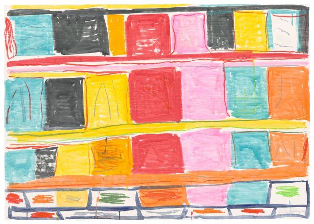 Stanley Whitney Untitled, 2020