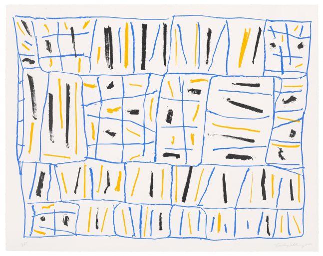 Stanley Whitney Untitled, 2021