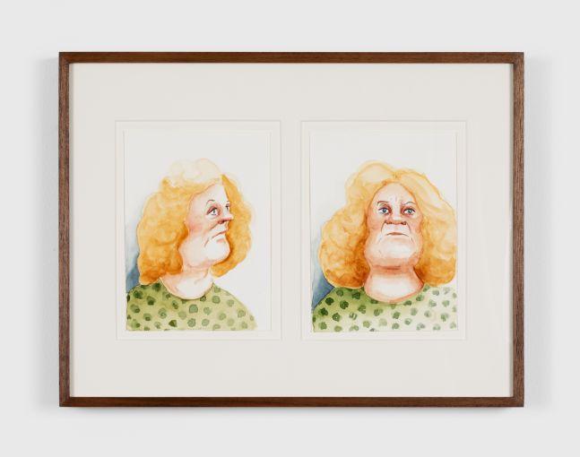 Madeleine Pfull Mug, 2020 Gouache on paper 8 1/4 x 11 3/4 in 21 x 29.7 cm (MPF20.017)