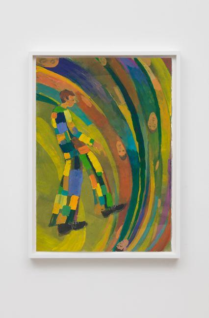 Tomasz Kowalski Untitled, 2015 Gouache on paper 19 3/4 x 13 3/4 in 50 x 35 cm (TKO19.006)