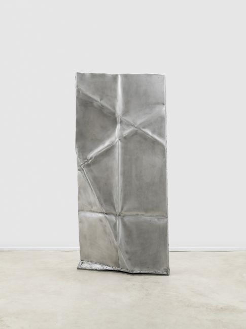 Anna Fasshauer Tula Twillery, 2020 Aluminium, clear lacquer 78 x 37 1/8 x 9 7/8 in 198 x 94 x 25 cm (AFA20.008)