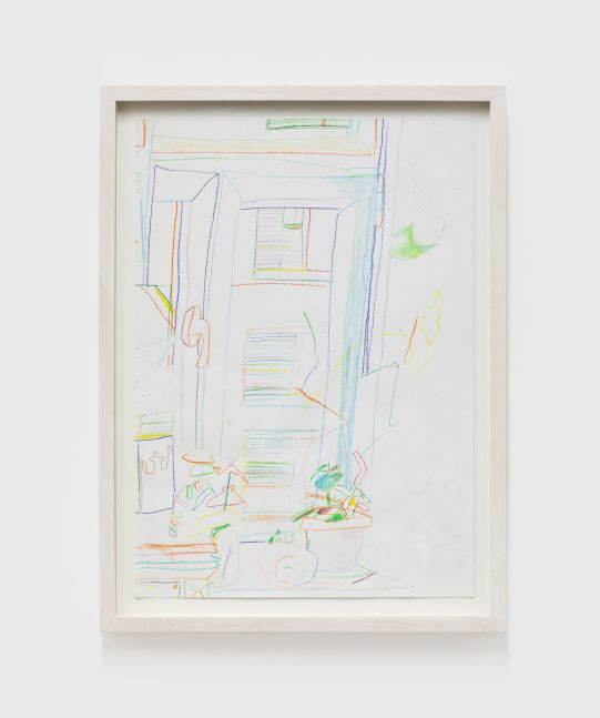 Gerlind Zeilner Untitled, 2020 Colored pencil on paper 11 3/4 x 8 1/4 in 30 x 21 cm (GZE20.016)