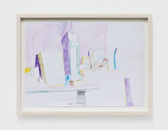 Gerlind Zeilner Brooklyn, 2020 Colored pencil on paper 8 1/4 x 11 3/4 in 21 x 30 cm (GZE20.015)