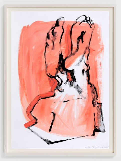 Anna Fasshauer Untitled, 2020 oil on paper 15 3/4 x 23 5/8 in 40 x 60 cm (AFA20.005)