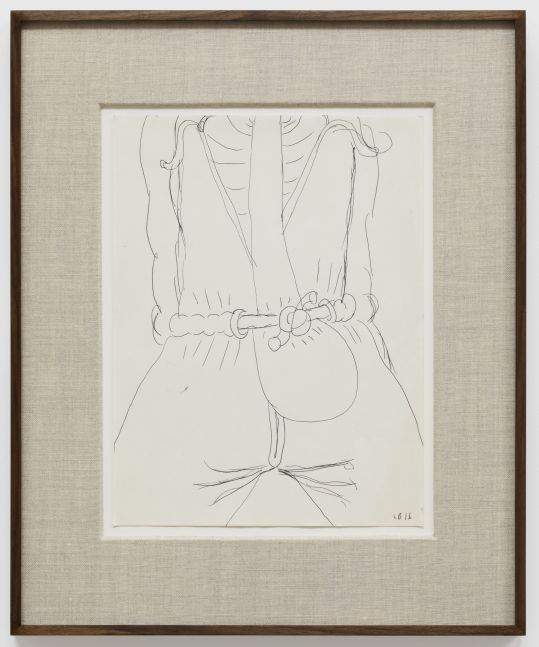 Louise Bonnet Untitled, 2016 Ink on paper 12 x 9 in 30.5 x 22.9 cm (LB20.017)
