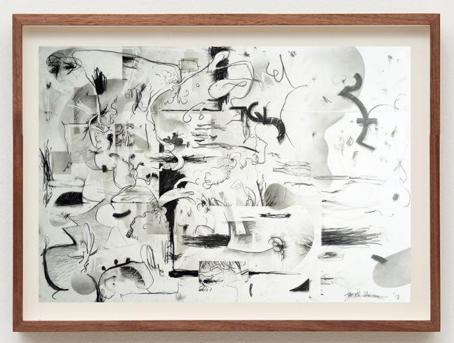 Jan-Ole Schiemann, TBT, 2018. Graphite on paper, 39 3/8 x 27 1/2 in, 100 x 70 cm (JS18.019)
