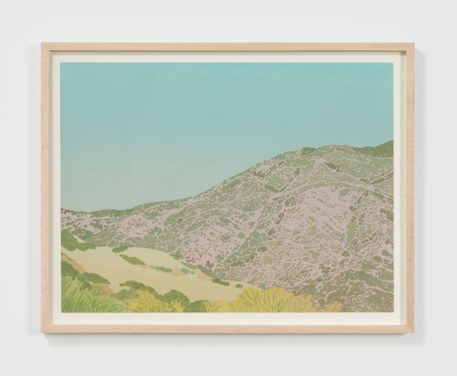 Jake Longstreth Untitled, 2020 Oil on watercolor paper 15 x 20 in 38.1 x 50.8 cm (JLO20.027)