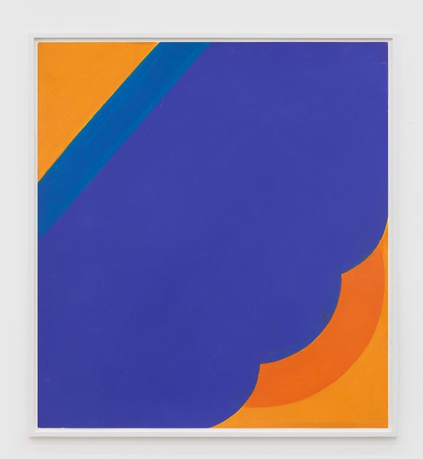 Georg Karl Pfahler Untitled (Tex Series), 1965 Acrylic on paper 21 5/8 x 19 3/4 in 55 x 50 cm (GKA20.001)