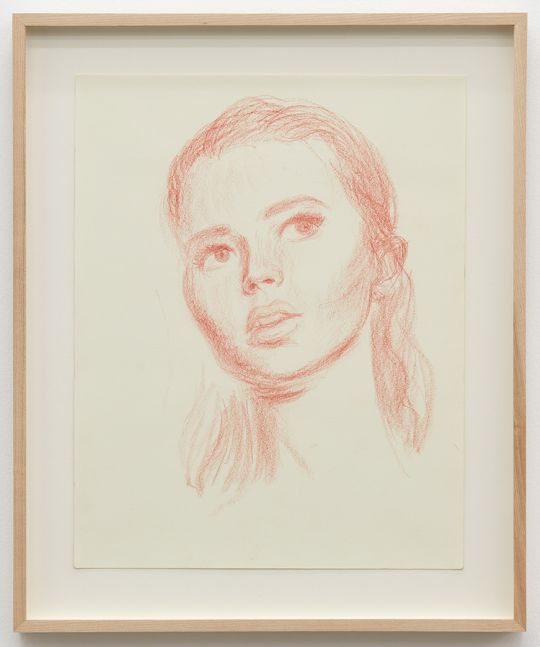Jansson Stegner, Study for Punalu'u II, 2017. Pencil on paper, 14 x 11 in, 35.6 x 27.9 cm (JAS17.013)